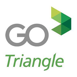 Go Triangle bus and pass logo