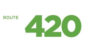 Route 420 Logo