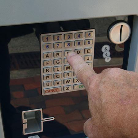 Step 1: Press Keypad
