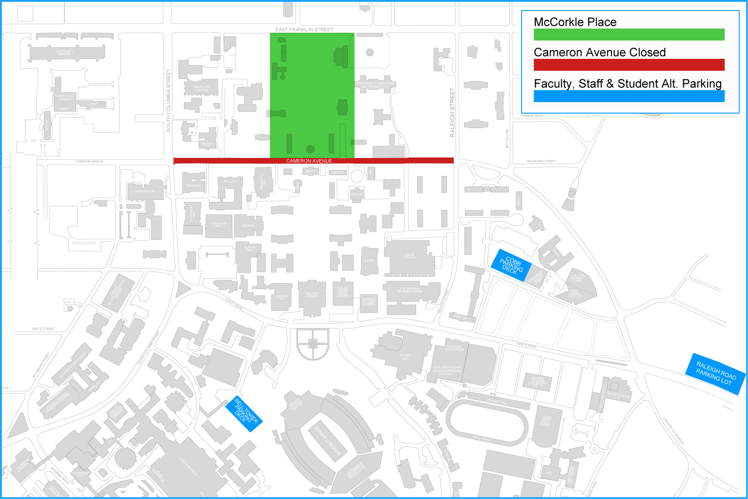 Transit and Parking Impacts at McCorkle place