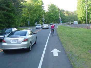 Bike Lane in Chapel Hill