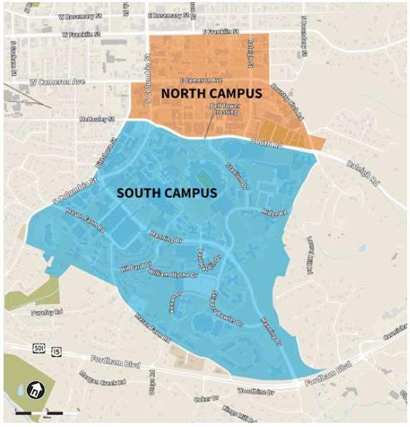 Campus Regions