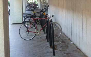 Greenlaw Hall Bike Rack