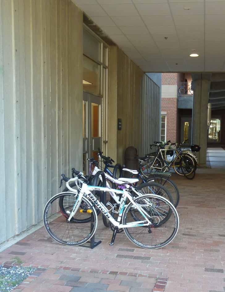 Kenan Labs Bicycle Parking