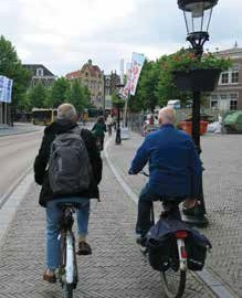 One-Way Cycle Track