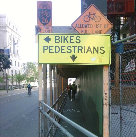 Signs in San Francisco