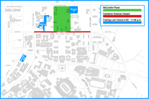 Parking Impacts Map