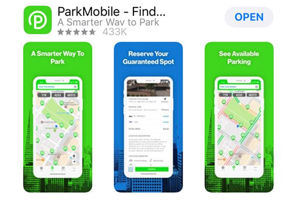 ParkMobile App Store
