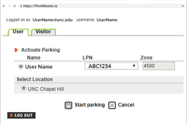Hourly or Weeknight Parking