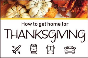 How to get home for Thanksgiving