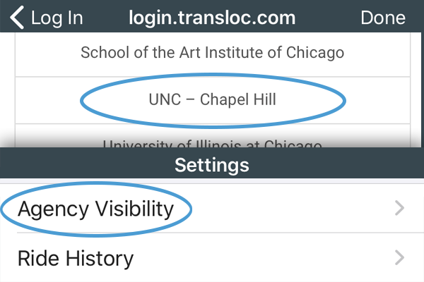UNC-Chapel Hill Agency Visibility