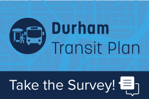 Durham Transit Plan Survey Graphic