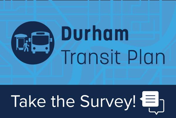 Durham Transit Plan Survey Graphic