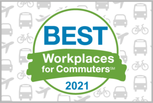 Best Workplaces for Commuters 2021