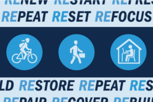 Get Rewarded for Active Transportation Graphic