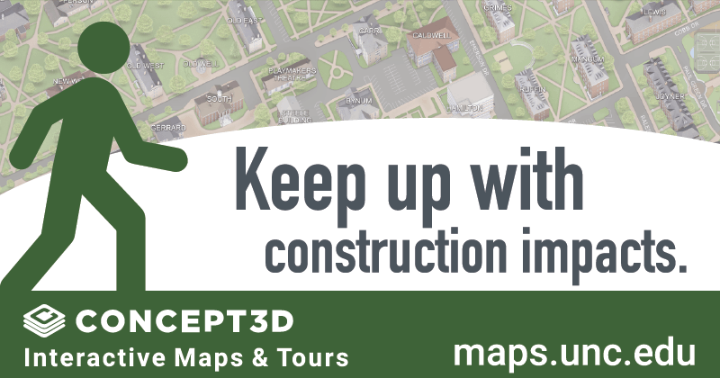 Keep up with construction